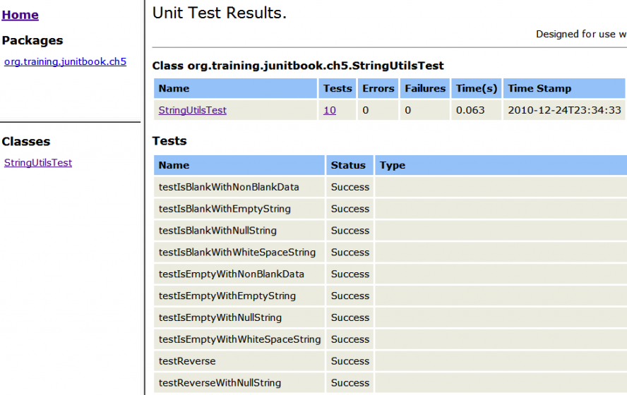 Creating JUnit Reports with Ant | luv2code – For Software Developers ...