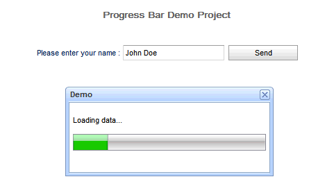 Progress Bar Demo